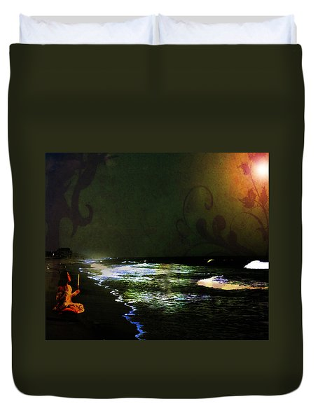Hope In The Darkness Duvet Cover