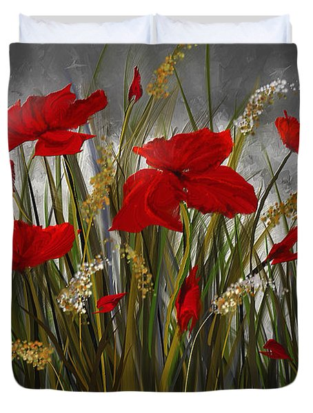 Moonlight Poppies Poppies At Night Painting Painting By