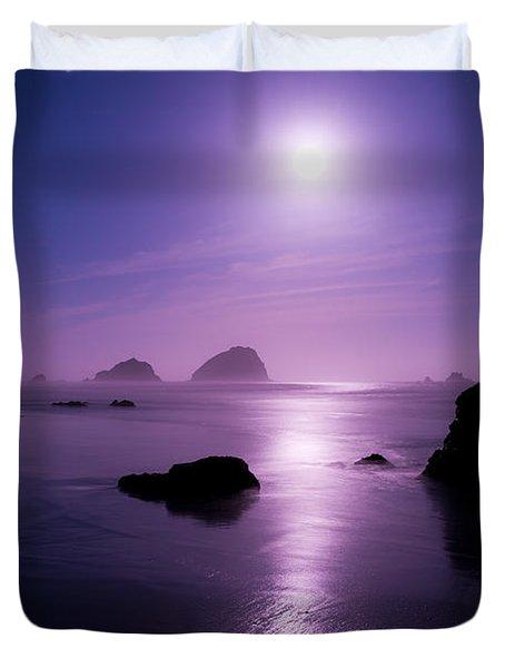 Moonlight Reflection Duvet Cover