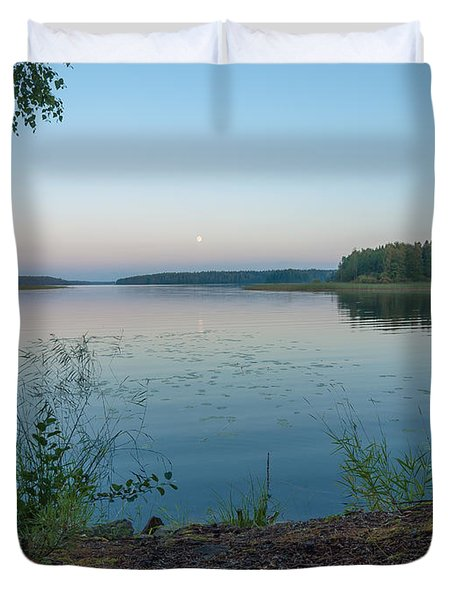Moonlight Water Duvet Cover