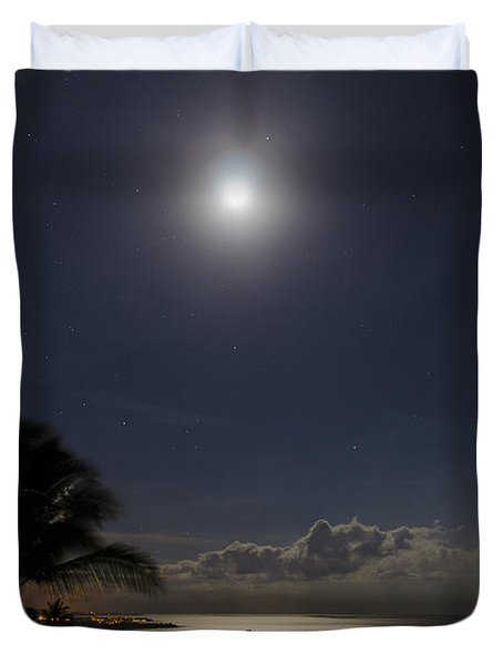 Moonlit Bay Duvet Cover