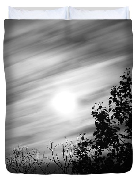 Moonlit Clouds Duvet Cover