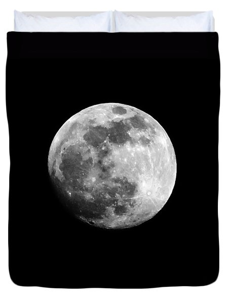 Duvet Cover featuring the photograph Moonlit Dreams by Chris Fraser