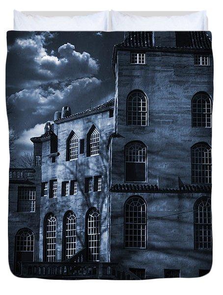 Moonlit Fonthill Duvet Cover