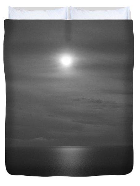 Moonshine Duvet Cover by Jennifer E Doll