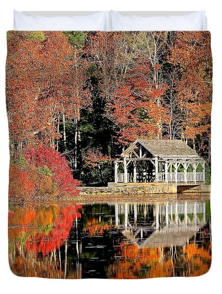 Moore State Park Autumn II Duvet Cover