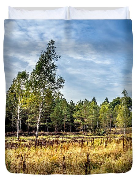 Wetlands In The Black Forest Duvet Cover