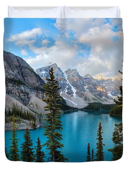 Moraine Duvet Cover