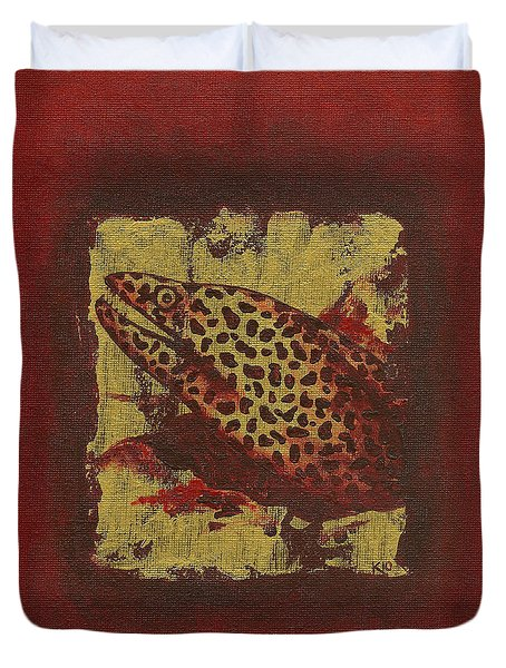 Moray Eel Duvet Cover
