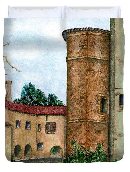 Morcone  Duvet Cover by Pamela Allegretto