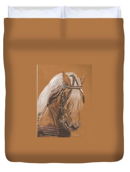 More From Fer A Cheval Duvet Cover