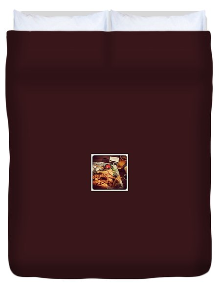 More Hunter Goodness Duvet Cover