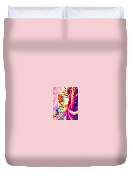 More Thoughts Duvet Cover by Fania Simon