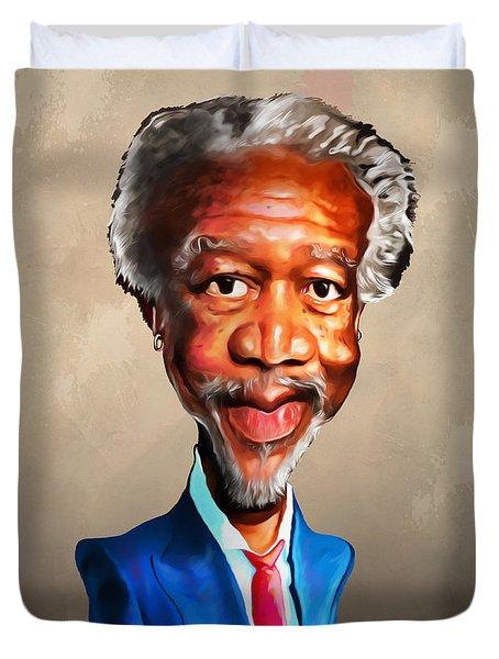 Morgan Freeman Duvet Cover