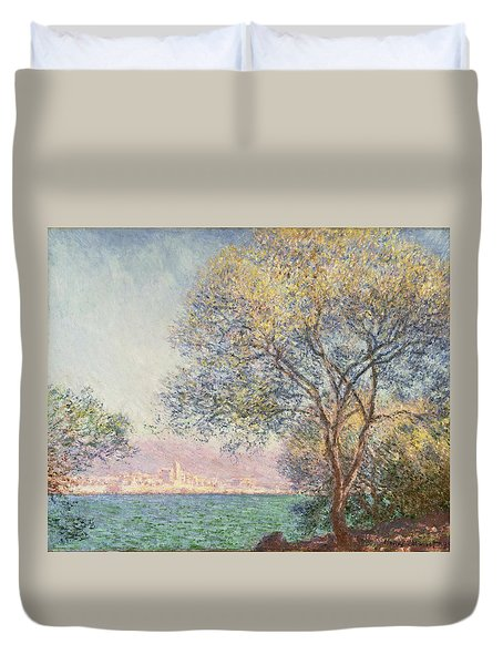 Morning At Antibes Duvet Cover