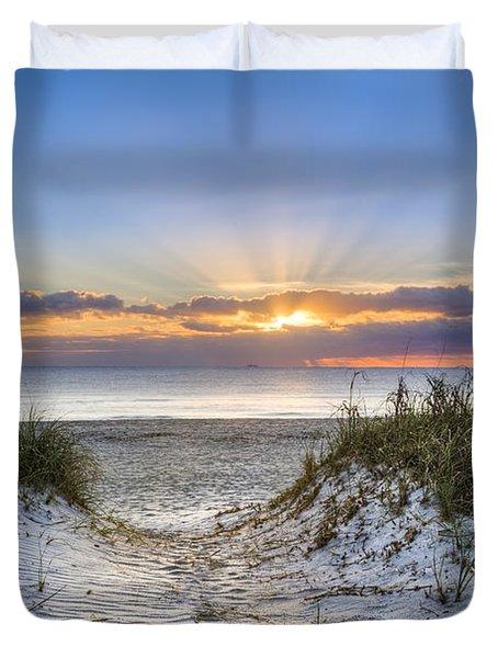 Morning Blessing Duvet Cover