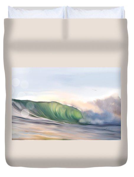 Morning Break Duvet Cover