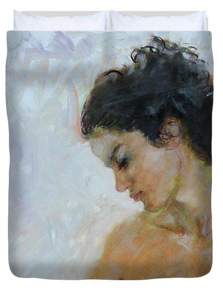 Morning Breeze Duvet Cover