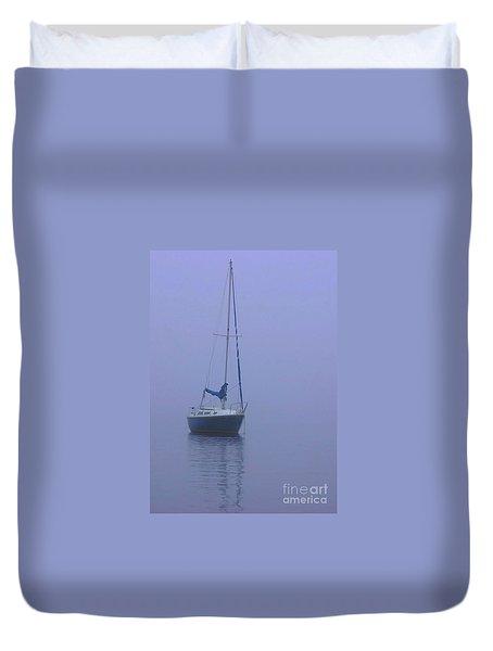 Morning Calm Duvet Cover by Karol Livote