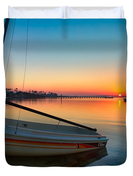 Morning Calm Duvet Cover by Tim Stanley