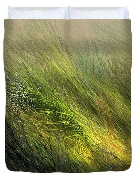 Morning Dew Drops Duvet Cover