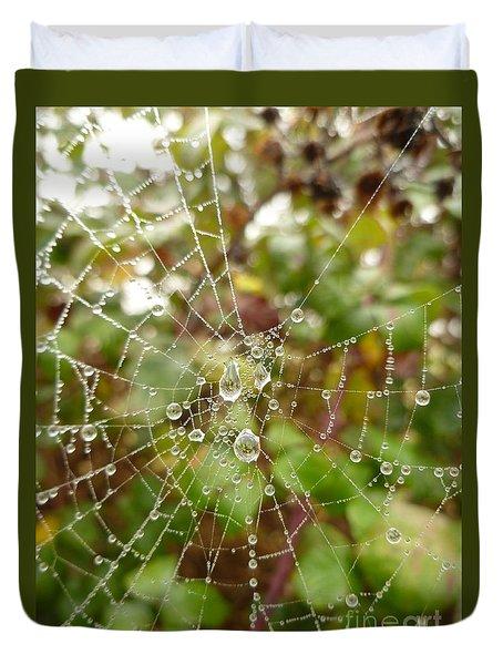 Morning Dew Duvet Cover by Vicki Spindler