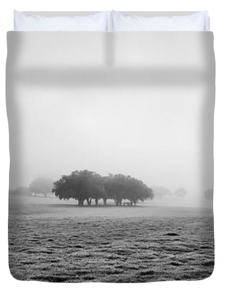 Morning Fog Duvet Cover by Howard Salmon
