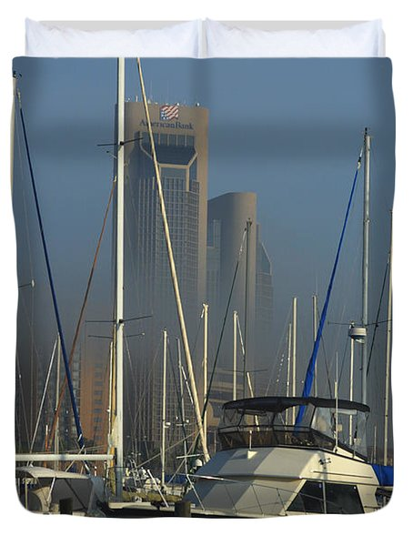 Morning Fog Ll Duvet Cover