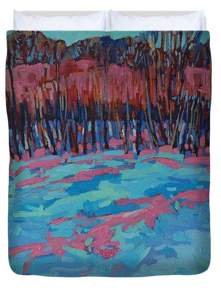 Morning Forest Duvet Cover