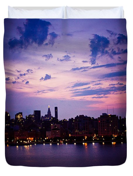 Morning Glory Duvet Cover by Sara Frank