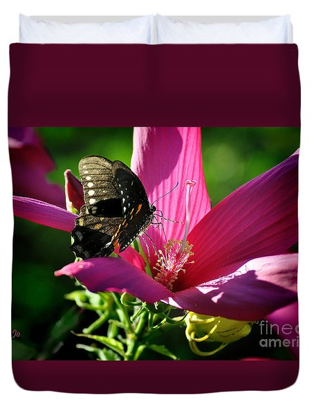 Duvet Cover featuring the photograph In The Morning by Nava Thompson