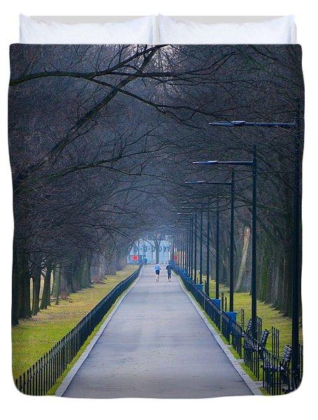 Morning In Washington D.c. Duvet Cover