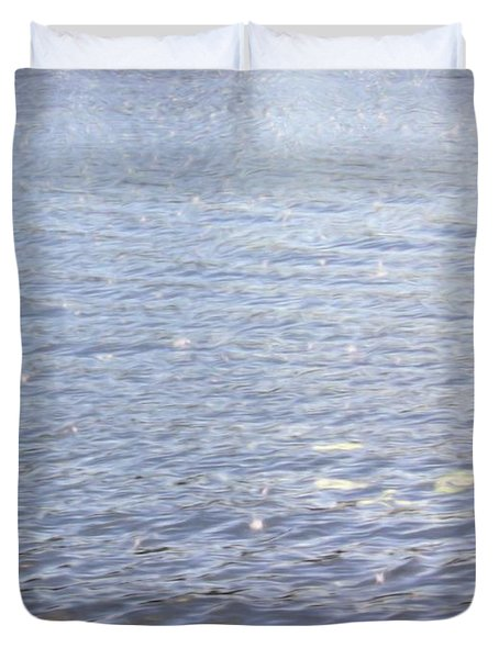 Morning Lake Duvet Cover