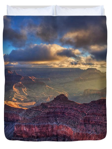 Morning Light Duvet Cover