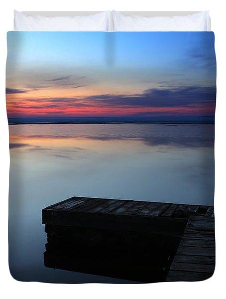 Morning Light Duvet Cover by Brian Boudreau