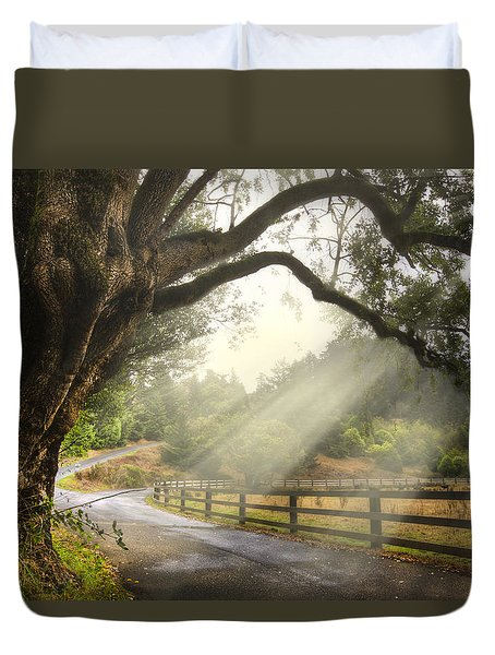 Morning Light Duvet Cover