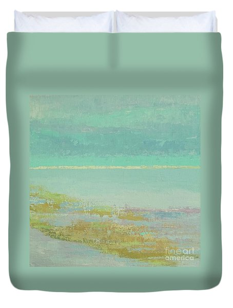 Morning Low Tide Duvet Cover