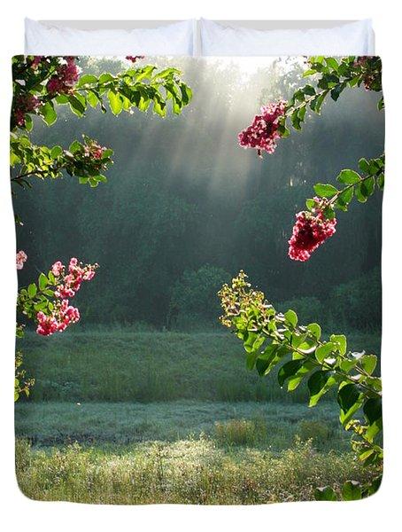 Morning Marsh Duvet Cover by Carol Groenen
