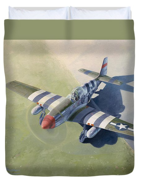 Morning Mission Duvet Cover by Wade Meyers