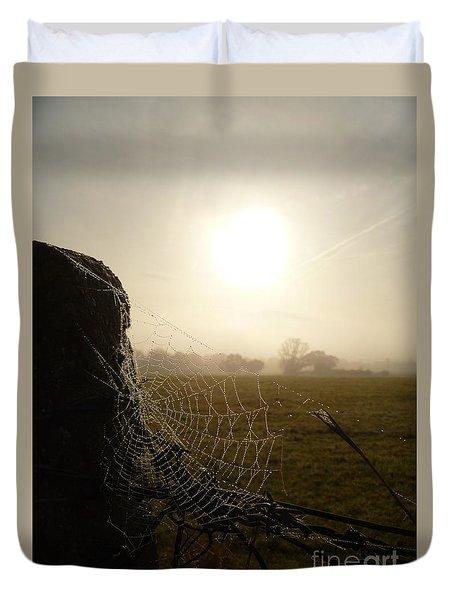Morning Mist Duvet Cover by Vicki Spindler