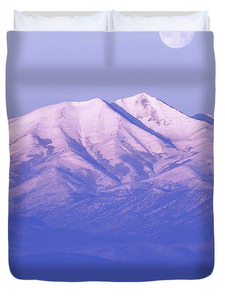 Morning Moon Duvet Cover