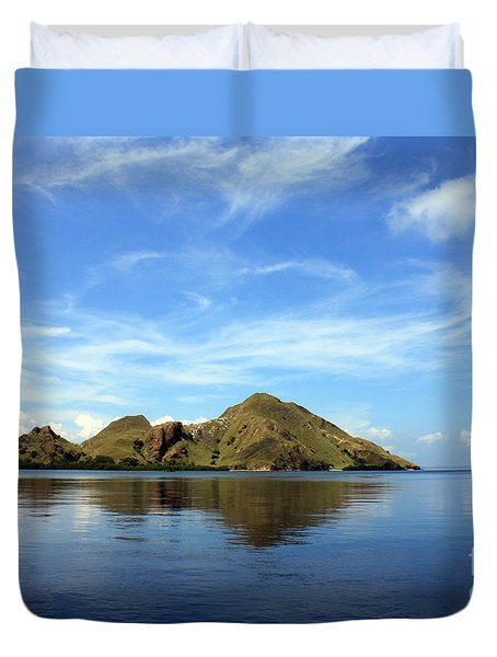 Morning On Komodo Duvet Cover by Sergey Lukashin