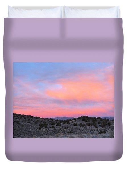 Morning Paints Duvet Cover