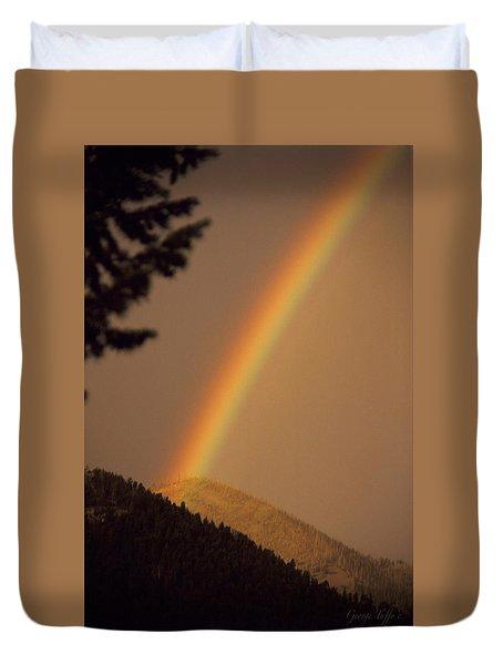 Morning Rainbow Duvet Cover