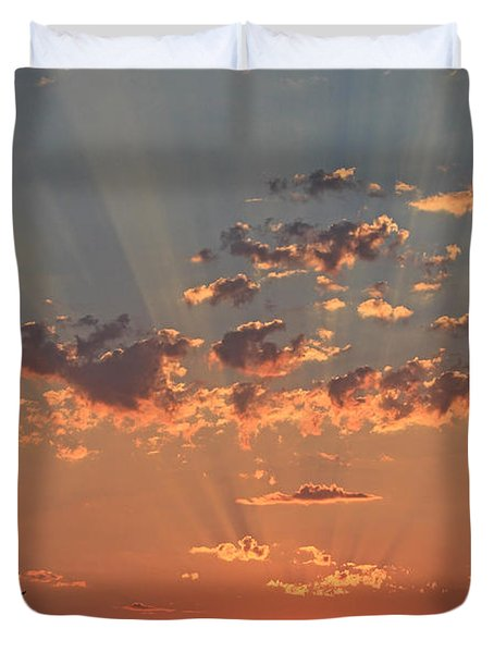 Morning Rays Duvet Cover