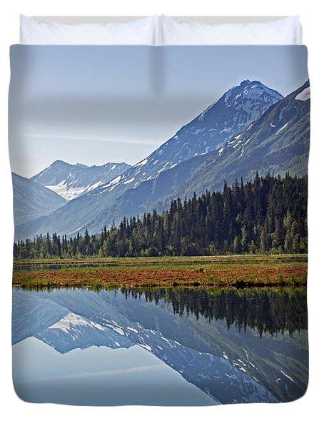 Morning Reflections Duvet Cover