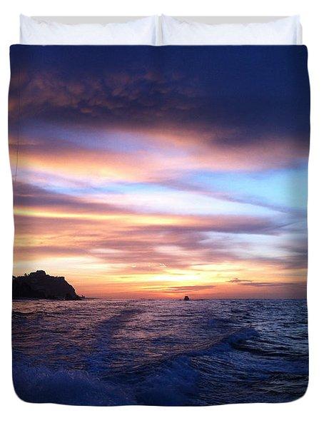 Morning Skies Duvet Cover