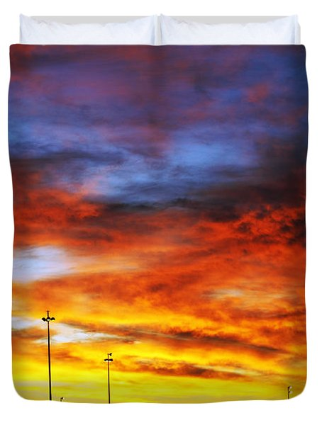 Morning Sky Duvet Cover