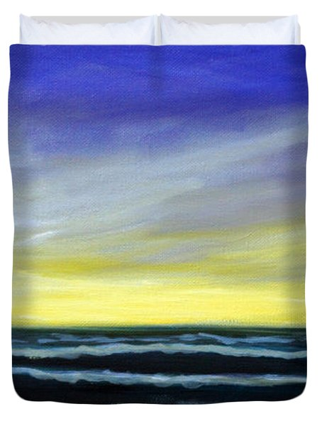 Morning Star And The Sea Oceanscape Duvet Cover