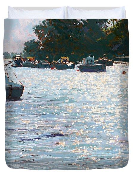 Morning Tide Duvet Cover by Martin Decent